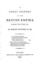 A short history of the British empire during the year 1794