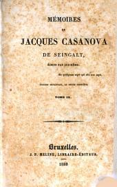 Mémoires de Jacques Casanova de Seingalt: Volume9