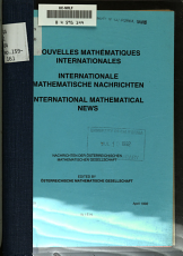 International mathematical news PDF