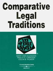 Glendon, Carozza, and Picker's Comparative Legal Traditions in a Nutshell, 3d: Edition 3