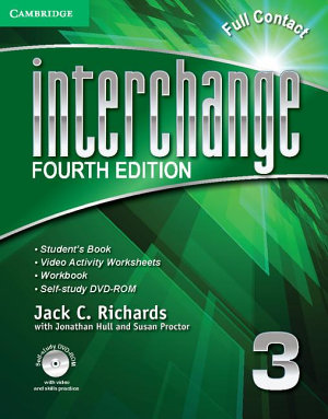 Interchange Level 3 Full Contact A With Self Study Dvd Rom