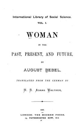 Woman in the Past  Present and Future PDF