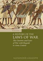 A History of the Laws of War  Volume 3 PDF