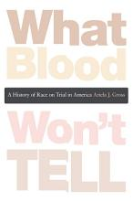 What Blood Won t Tell PDF
