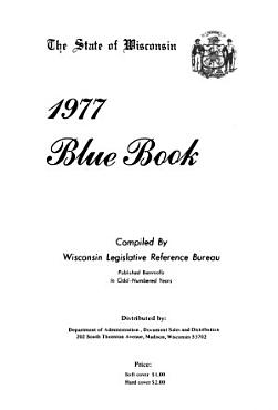 The State of Wisconsin Blue Book PDF