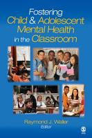 Fostering Child and Adolescent Mental Health in the Classroom PDF