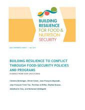 Building resilience to conflict through food security policies and programs: Evidence from four case studies