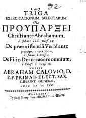 De Filio Dei creatore omnium