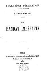 Le Mandat impératif