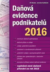 Daňová evidence podnikatelů 2016