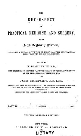 The Retrospect of Practical Medicine and Surgery PDF