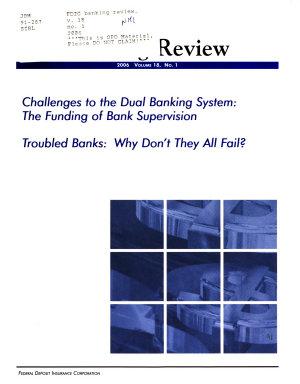 FDIC Banking Review PDF
