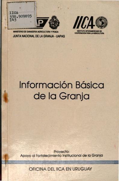Informacion Basica De La Granja