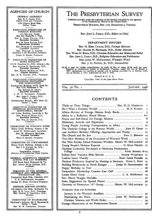 Presbyterian Survey PDF