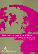 Einstieg in nachhaltige Entwicklung PDF