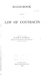 Hand-book of the Law of Contracts