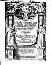Psalter Davids: Sampt den Canticis Latein vn[d] Teutsch, mit kurtzer richtiger außlegung, nach dem verstand der fürnemsten Lehrern, in 3. Theil abgetheilt, Band 2