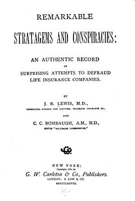 Remarkable Stratagems and Conspiracies