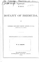 The Botany of Bermuda PDF