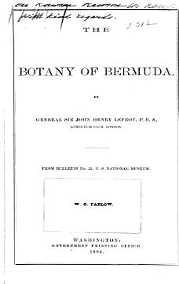 The Botany of Bermuda