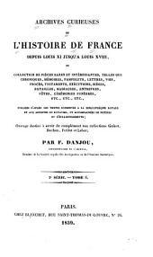 Archives curieuses de l'histoire de France depuis Louis XI jusqu'à Louis XVIII ...: Volume2;Volume8