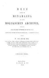 Reis door de Minahassa en den Molukschen archipel: Gedaan in de maanden september en oktober 1855 in het gevolg van den gouverneur generaal Mr. A.J. Duymaer van Twist, Volume 2