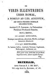 De viris illustribus urbis Romae, a Romulo ad Caesarem Augustum, ad usum prioris scholae grammatices