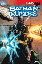 Batman and the Outsiders (2007-) #13