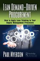 Lean Demand Driven Procurement PDF