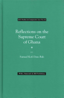 Reflections on the Supreme Court of Ghana PDF