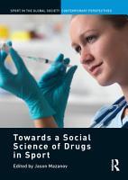 Towards a Social Science of Drugs in Sport PDF