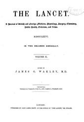 The Lancet: Volume 2; Volume 111