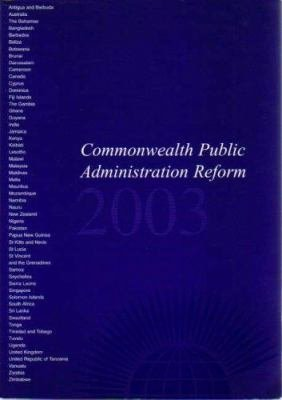 Commonwealth Public Administration Reform 2004