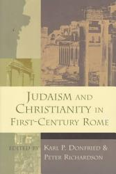 Judaism And Christianity In First Century Rome Book PDF
