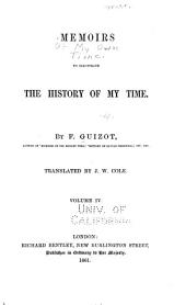 Memoirs to illustrate the history of my time: Volume 4