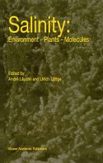 Salinity: Environment — Plants — Molecules