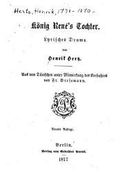 König René's Tochter: Lyrisches Drama
