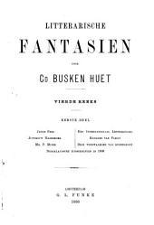 Litterarische fantasien: Volume 1