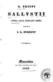 C. Crispi Sallustii Opera quae exstant omnia curante I. L. Burnouf