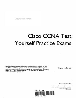 Cisco CCNA Test Yourself Practice Exams