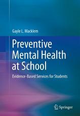 Preventive Mental Health at School PDF