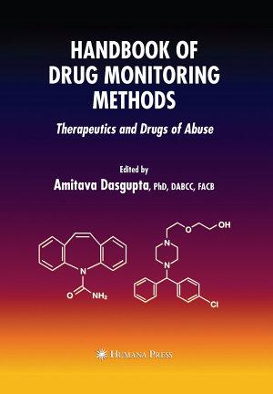 Handbook of Drug Monitoring Methods PDF