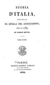Storia d'Italia continuata da quella del Guicciardini sino al 1789: Volume 9