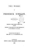 The Works of Frederick Schiller Translated from the German by the Rev  A  J  W  Morrison PDF