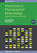 Introduction to Pharmaceutical Biotechnology, Volume 1