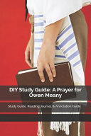 DIY Study Guide  A Prayer for Owen Meany  Study Guide  Reading Journal    Annotation Guide Book