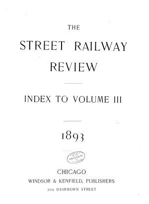 Electric Railway Review PDF