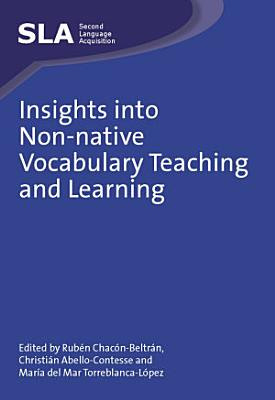 Insights into Non native Vocabulary Teaching and Learning PDF