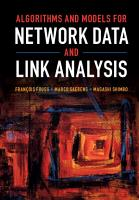 Algorithms and Models for Network Data and Link Analysis PDF