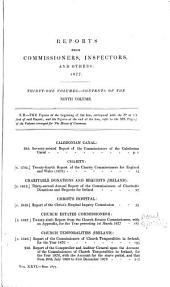 Parliamentary Papers: Volume 26